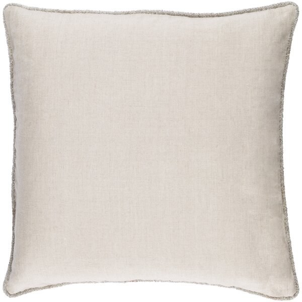 Sera 100% Linen Throw Pillow Cover by Willa Arlo Interiors